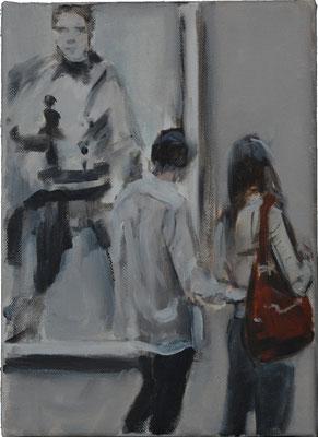Andy, 2015, Öl auf Leinwand, 25cm X 20cm