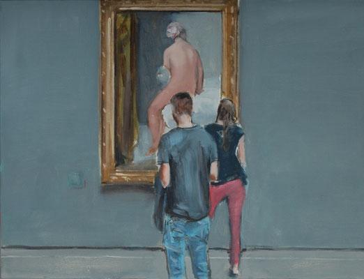 David, 2017, Öl auf Leinwand, 50cm X 80cm, Privatbesitz