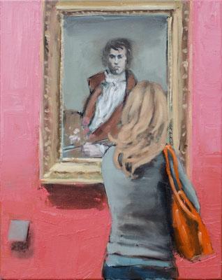 David, 2017, Öl auf Leinwand, 50cm X 40cm, Privatbesitz