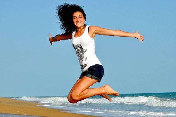 Wohlbefinden, mehr Lebensfreude, Kraft und Energie