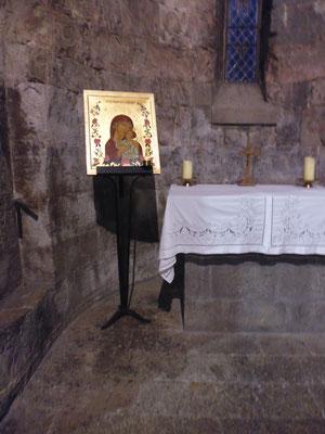Icône Notre Dame des Parfums - cathédrale de Grasse 20.10.2017 - fin du colloque