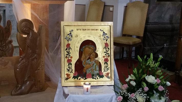 bénédiction de l'Icône le 9 septembre 2017 à Notre Dame de Valcluse - 3