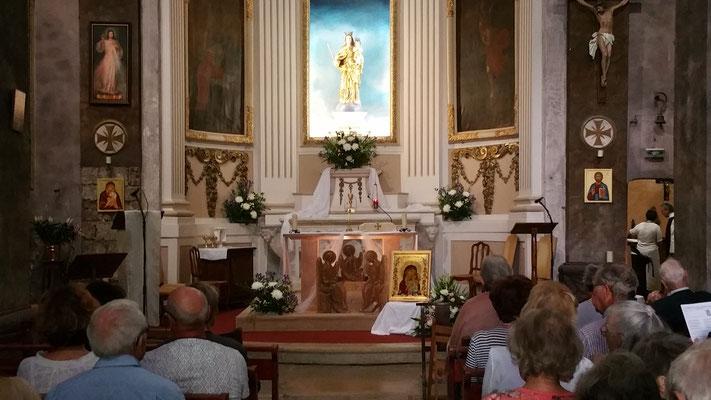 le jour de la bénédiction le samedi 9 septembre 2017 à Notre Dame de Valcluse - 1