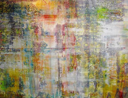 """Explosion"" 170x130x2cm/Acryl auf Leinwand"