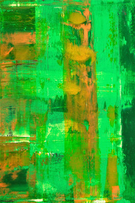 """""""Dancing in the Wood"""" 50x40x4cm/Acryl auf Leinwand"""