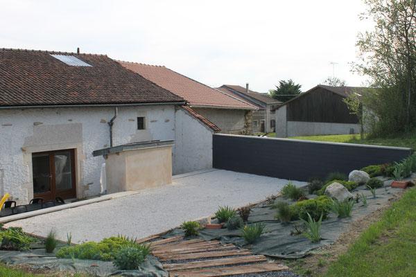 Le jardin du gîte - Ferme Saint-Thibaut - Houdelaucourt-sur-Othain