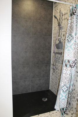 La douche à l'italienne - Location de vacances - Nord Meuse