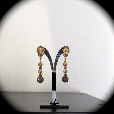 59. Boucles d'oreilles - Agate ; CHF 25.