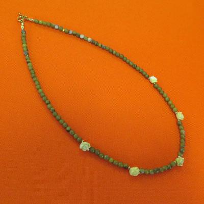 59. Halskette: Koreanische Jade; 45 cm; CHF 45.