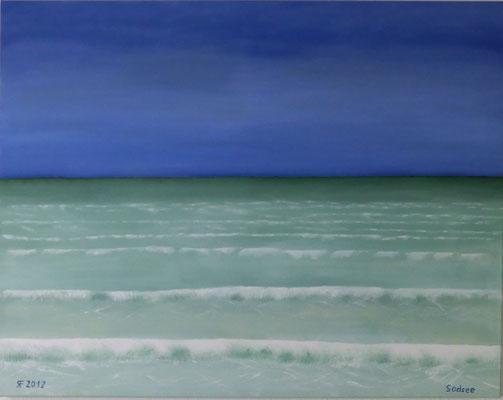 Südsee, Öl, 100x70 cm