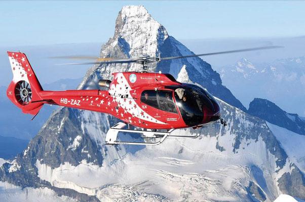 Matterhorn Heli Rundlfug für 2 Personen im Wert von Fr. 2000.-