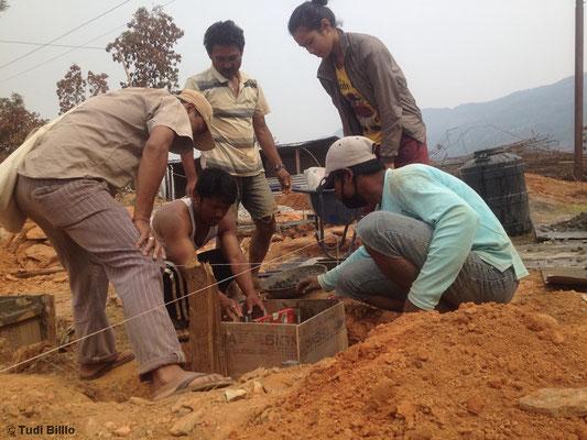 Nepal 2016: Wiederaufbau einer Dorfschule