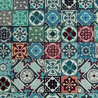 Florentiner Papiere: blaue Kacheln - IT 912