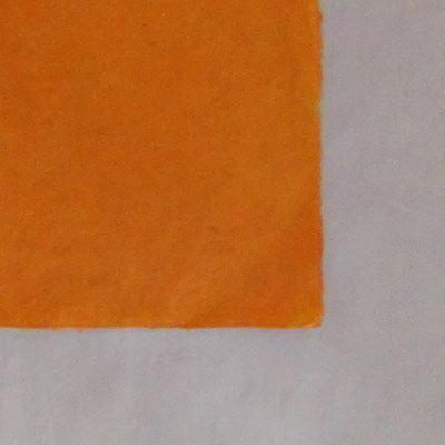 Daphne-Papier mit Büttenrand, orange - LOK 613
