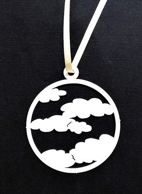 Papierschmuck von Kathrin Förster Kuberczyk - Wolken