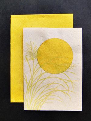 Daphne Doppelkarte mit farbigem Umschlag