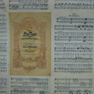 ital. Papier von Leonardo Communication: Musica