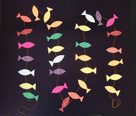 Fische klein - Artikel-Nr GL07