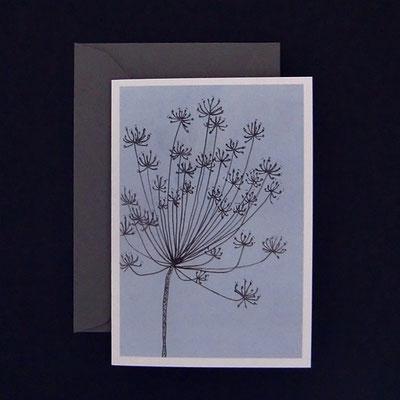 Offsetdruck von Tuschezeichnung auf handgedruckter Linolfläche - von Kathrin Förster-Kuberczyk - KSpi16