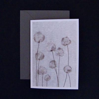 Offsetdruck von Tuschezeichnung auf handgedruckter Linolfläche - von Kathrin Förster-Kuberczyk - KSpi11