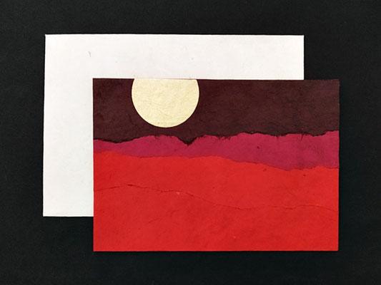 Daphne Doppelkarte mit farbigem Umschlag - KDap07