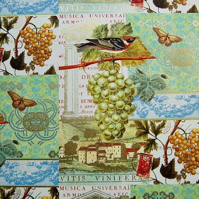 Florentiner Papiere: Wein und Vögel - IT 916