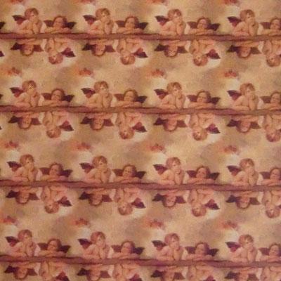 ital. Papier: Die Engel aus der Sixtinischen Kapelle