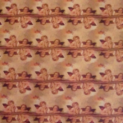 ital. Papier: Die Engel aus der Sixtinischen Kapelle - IT919