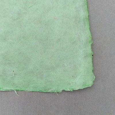 Daphne-Papier mit Büttenrand, seegrün - LOK 650