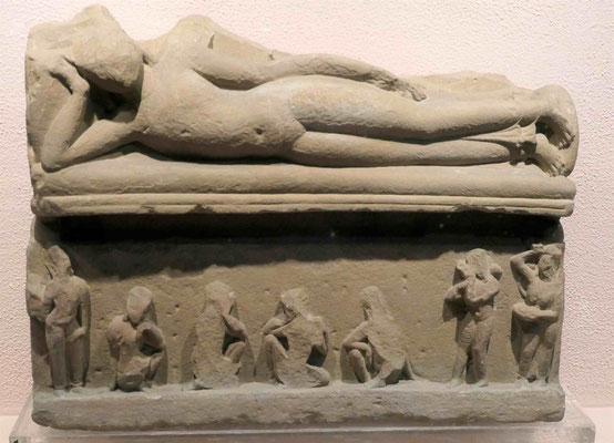 Mahaparinirvana Szene