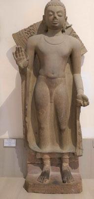 Buddha in Schutzgewährungshaltung, 5. Jhdt. u.Z.