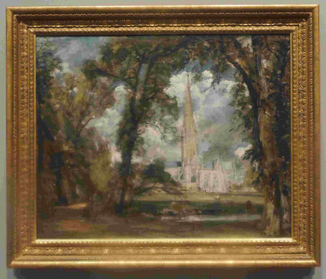 John Constable, Kathedrale von Salisbury, National Galery of Canada, Ottawa