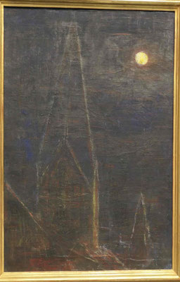 Christian Rohlfs, Mondnacht über Soest, 1932, Kunsthalle zu Kiel