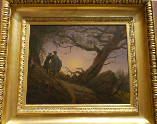 Caspar-David Friedrich, Met