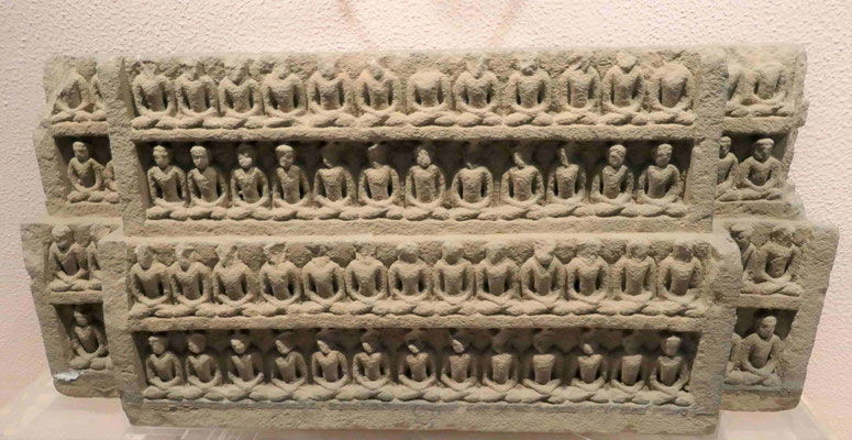Sadhastra Buddhas, frühes Mittelalter