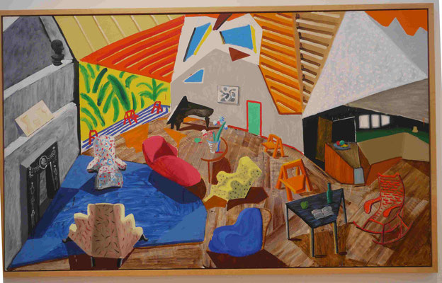 David Hockney Met