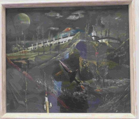 Franz Radziwill, Golgata, 1924 - 1947, Kunsthalle zu Kiel