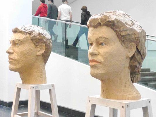 Stephan Balkenhol,  Musée des Beaux-Arts, Montreal, Kanada