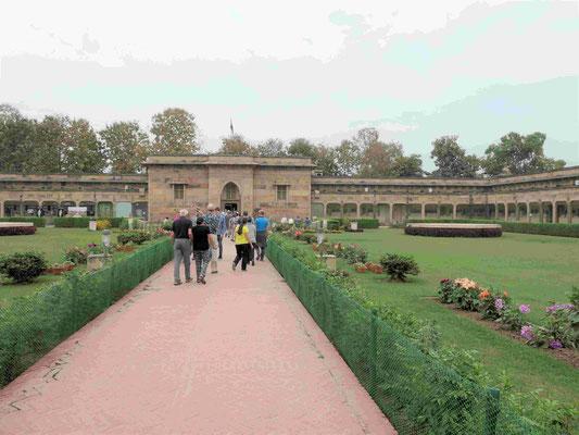Das Archäologische Museum von Sarnath, Indien