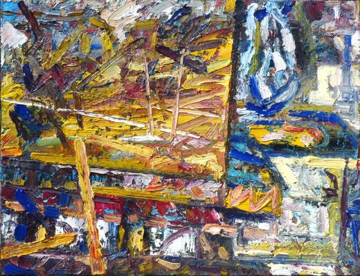 Auerbachs Keller, Öl/Lw 70 x 90 cm