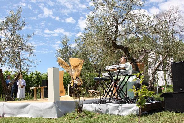 2015年サンマリノ共和国 神社建立1周年式典にて奉納演奏