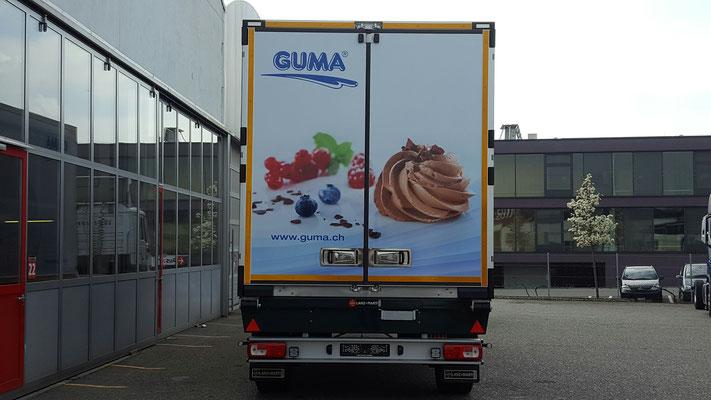 Lastwagenbeschriftung in Luzern, BlackStone Werbetechnik GmbH