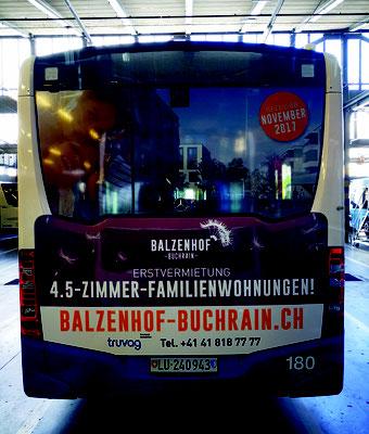 VBL - Buswerbung Luzern