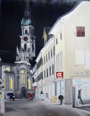 Altstadt Frauenfeld 2016, 60 x 80 cm, Preis Fr. 490.-