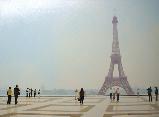 Eiffelturm Paris 2009, 72 x 54 cm, Preis Fr. 450.-