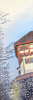 Schloss Frauenfeld 30x90cm, verkauft