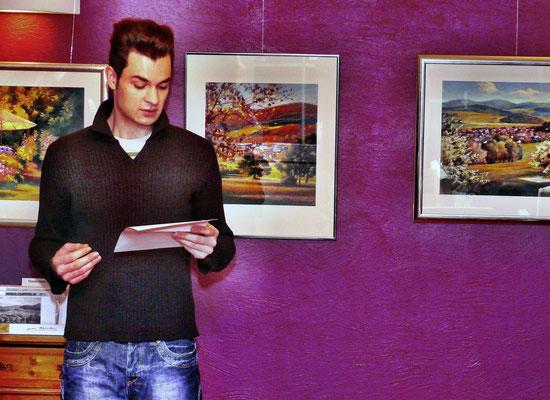 Ausstellung Andre Manecke