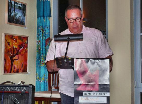 Krimifestival: Lesung M. Gibert