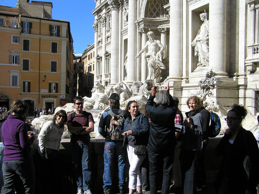 Rom wird erkundet
