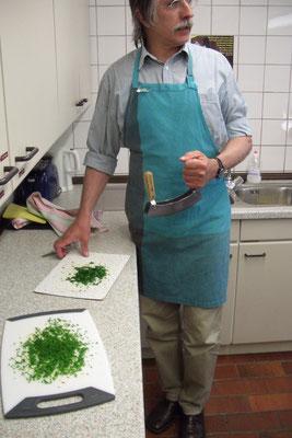 Wenn Männer kochen...